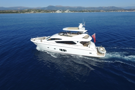 View the Sunseeker 80 Yacht 2011